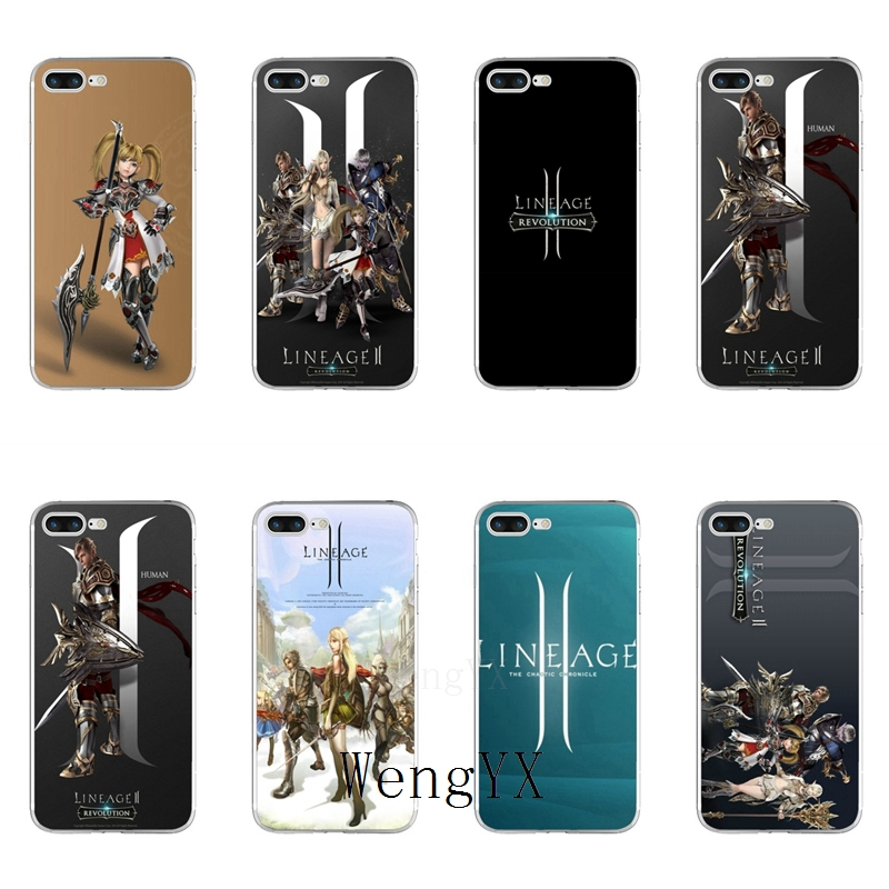 US $1 99 |game lineage 2 revolution Slim silicone TPU Soft phone case For  Huawei Honor 4C 5A 5X 5C 6 Play 6X 6A 6C pro 7X 8 9 Lite V8 V10-in