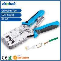 Cat6 Crimping Tool UTP STP RJ45 RJ11 with Ratchet TL 2810R