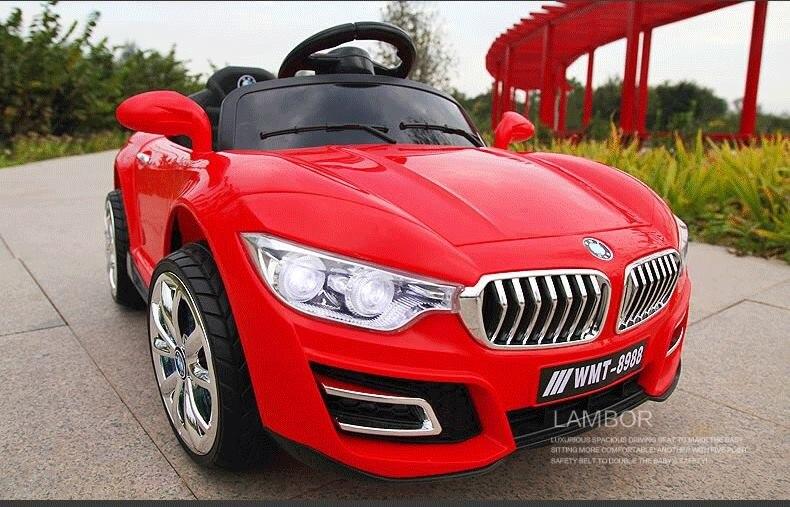 Le nouveau grand bébé enfants télécommande RC ride sur voiture électrique quatre roues double entraînement jouet voiture rechargeable bébé peut s'asseoir sur - 5