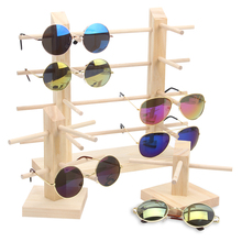 TONVIC Wood Display Stand For Sunglass 3D Glass Glasses Disp