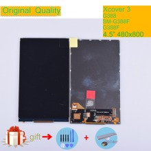 ORIGINAL LCD For Samsung Galaxy Xcover 3 SM-G388F G388 G388F LCD Display Screen 4.5 inches For Xcover3 G388 Display Screen LCD original 15 inches ltm150xs l01 lcd screen warranty for 1 year