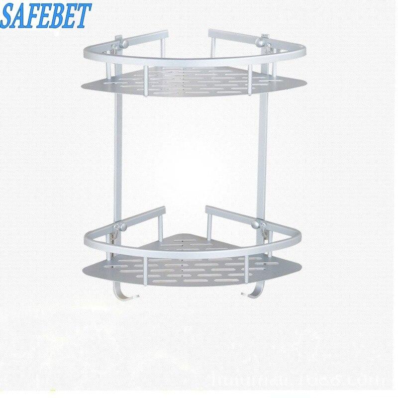 Safebet Brand Two Layer Bathroom Toiletries Metal Storage