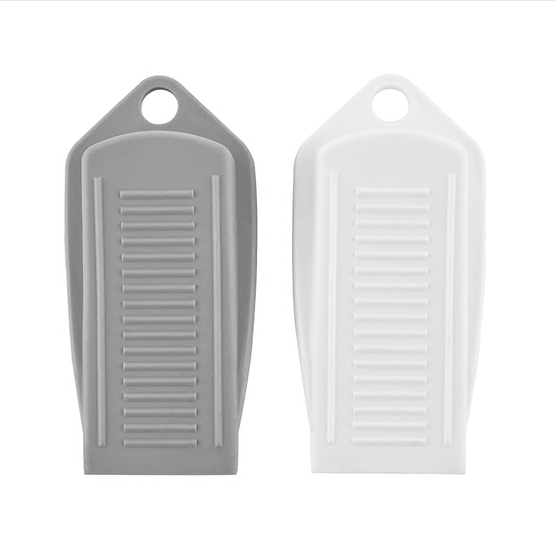 2PCS Natural Rubber Door Anti Collision Pad White Grey Safety Anti Collision Door Pad Bedroom Door Pad Toilet Collision Door Pad