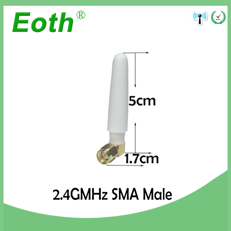 2.4ghz Antenna Wifi Sma Male Connector 2~3dbi 2.4g Antena Wi Fi Antenne Directional Waterproof Antennas For Wireless Router Special Buy