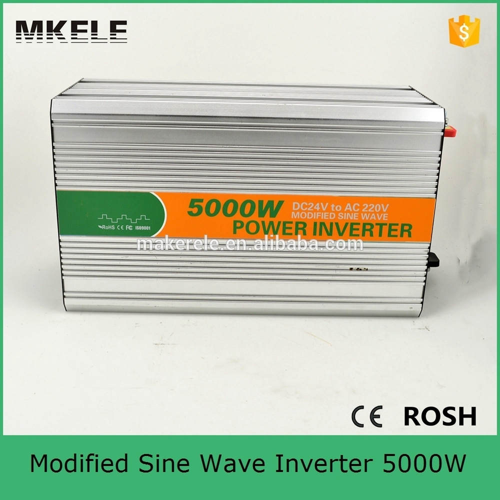 MKM5000 241G off grid modified sine wave inverter 5000 watt inverter 5000w,24 volt dc to 110 volt ac from China