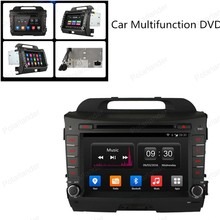 7in Quad Core car DVD Android 4.4 for KIA sportage r Sportage 10-15 GPS NAVI RADIO BT 1024*600 support DAB+ TPMS DVR