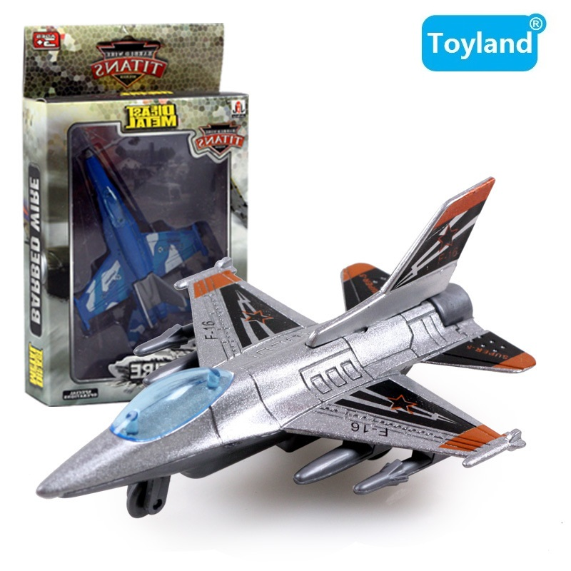 8-style F-16 F-18 Alloy Combat Aircraft Military Aviation Model Pull Back Combat Aircraft Fighter Plane Toys Gift For Children