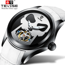 New Tevise Brand Men Mechanical Watch Automatic Fashion Colorful  individual Male Sport Watches Clock Relogio Masculino 2019