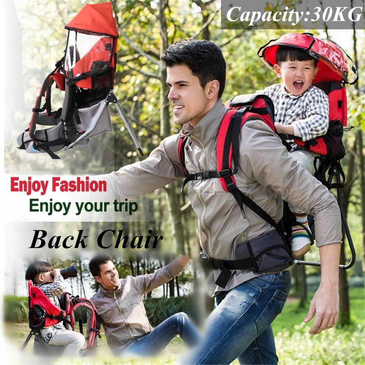 Foldable Baby Travel carrier Waterproof Baby toddlr Hiking Backpack