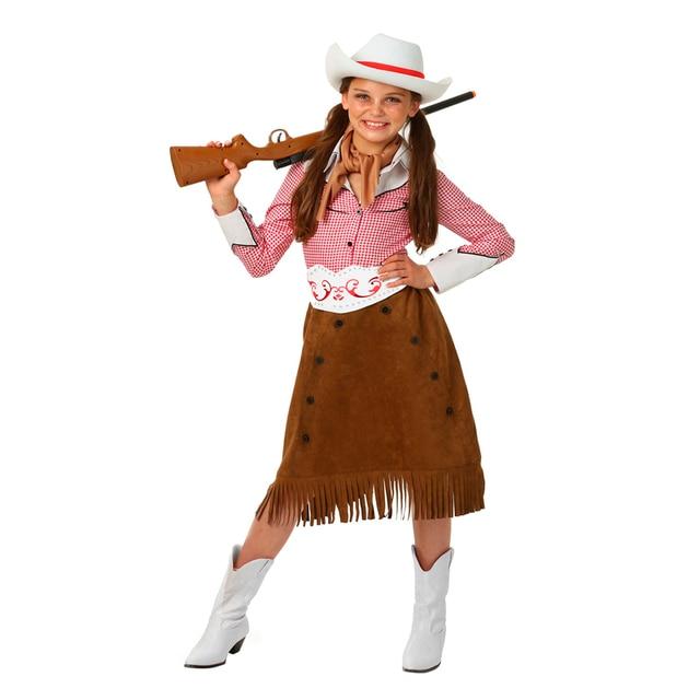 Chica Oeste Rodeo Cowgirl Histórico Camisa Infantil de