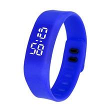Nueva Fashion Stoptwatch LED Digital Male Men's Watches Luxury Sports Clock Electronic Wrist Watchrelogio feminino ,XL33