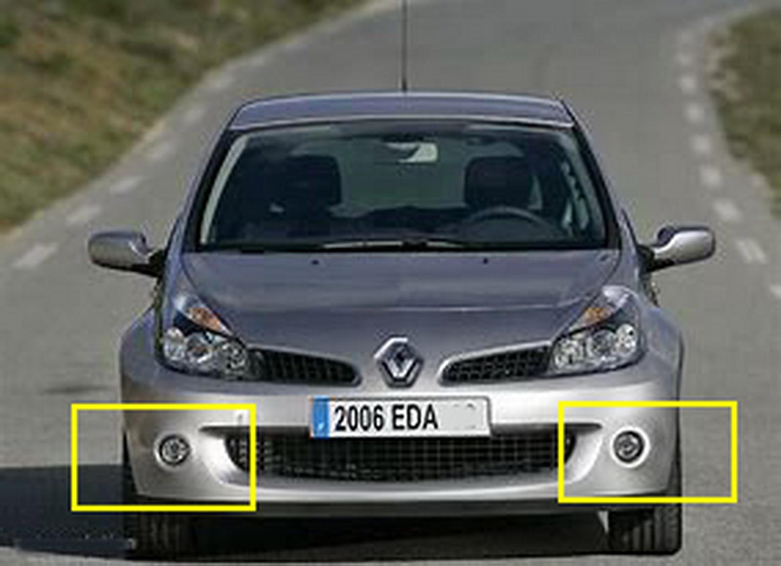 Renault Twingo 2008-2011 Megane 2002-2009 Pair Right /& Left Interior Door Handle