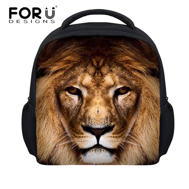 FORUDESIGNS 12   new style animal dog head bags children schoolbags for boys  and girls 128cd5835ab3b