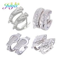 Juya ювелирные изделия ручной работы, золотые/серебряные серьги, крючки, аксессуары для женщин, роскошное изготовление сережек