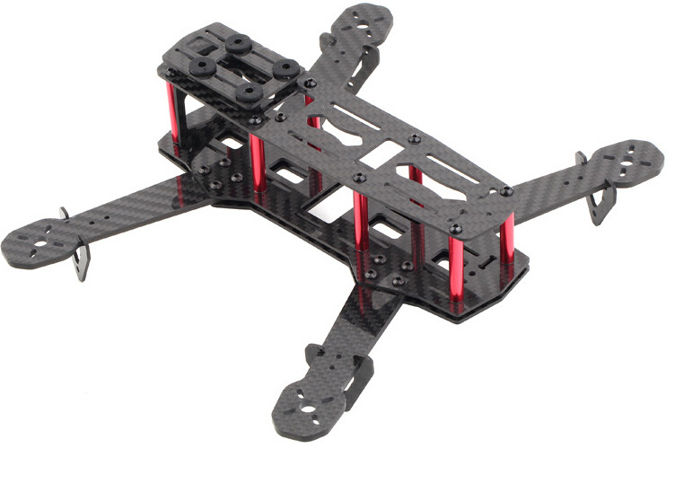 Hobbysa H250 Carbon Fiber FPV Race RC Quadcopter Frame Kit graupner alpha 300q 3d race copter rfh rc race copters rc plane race quadcopter