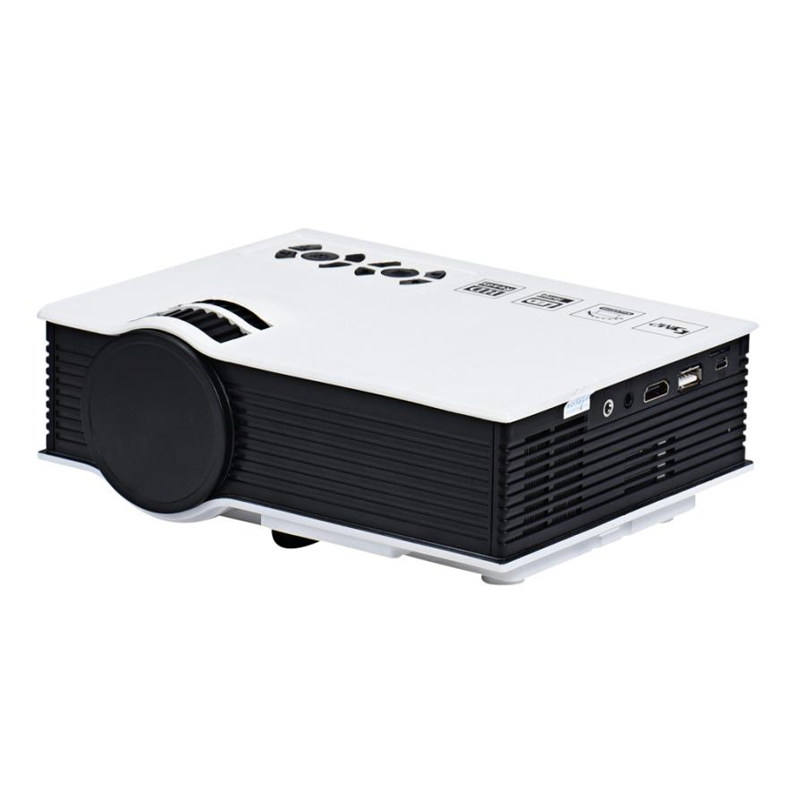 Hl new g40 pro led home theater cinema game projector hd for Usb projector reviews