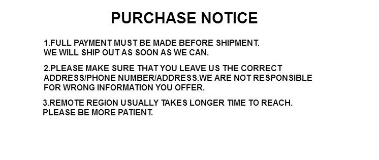 purchase notice