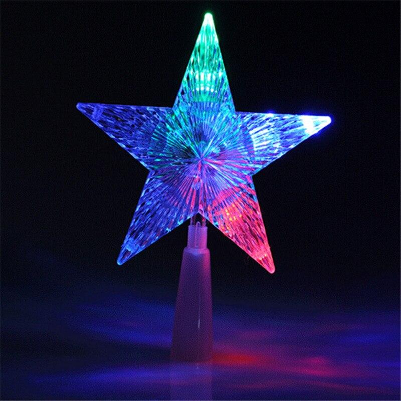 Christmas Tree Star Topper Lights Rainforest Islands Ferry