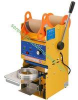 110 V-240 V mano tipo utilizzato per Boba Tè Al Latte, ghiaccio di Plastica Coppa sigillatrice bubble tenuta della macchina di carta spedizione gratuita