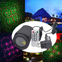 Xmas Laser Projector Lights Outdoor Waterproof Star Led Christmas Landscape Lighting Halloween Wedding Birthday Party Decorative