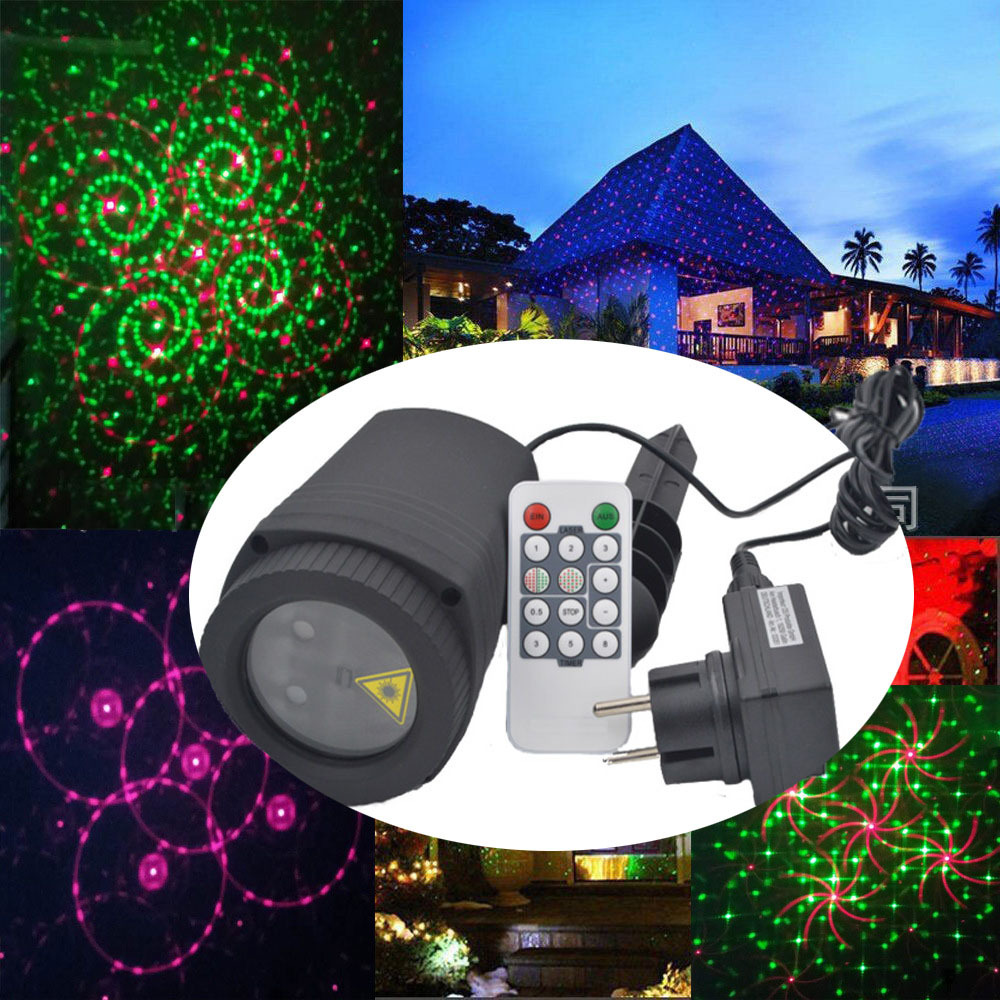Xmas Laser Projector Lights Outdoor Waterproof Star Led Christmas - Vakantie verlichting