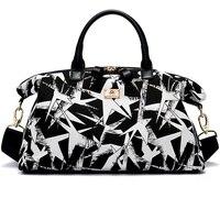 travel bag women high quality canvas school bag travel totes women summer shoulder bag big women travel bags 2018