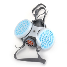 0701 Schilderen Stofmasker Hoge Kwaliteit Bescherming Gas Masker Anti Fog Haze Industriële Stof Houtbewerking Polijsten Masker Respirator