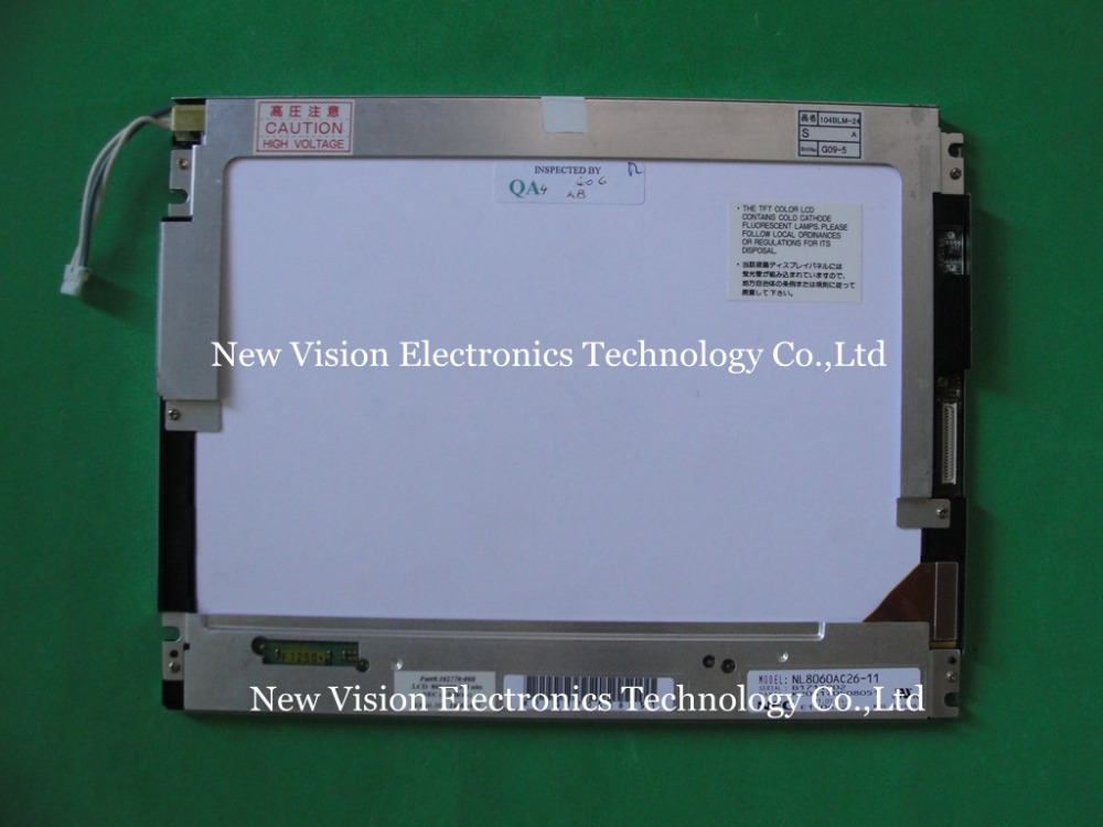 "NL8060AC26 11 Original A+ Grade 10.4"" inch LCD Display Panel for NEC for Industrial Equipment-in LCD Modules from Electronic Components & Supplies"
