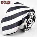 New Skinny Cotton Necktie Men Polyester Yarn gravata Slim Atv Wedding Krawatte Cheap Cravat Ties corbatas cravate pour homme