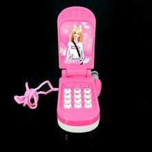 Электронный игрушечный телефон музыкальный мини Милая Детская игрушка раннее образование мобильный телефон с мультяшками телефон мобильный телефон детские игрушки