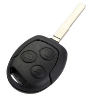 3 Buttons Remote Car Key Replacement 433MHz Chip Fob HU101 For FORD Fusion Focus Fiesta C