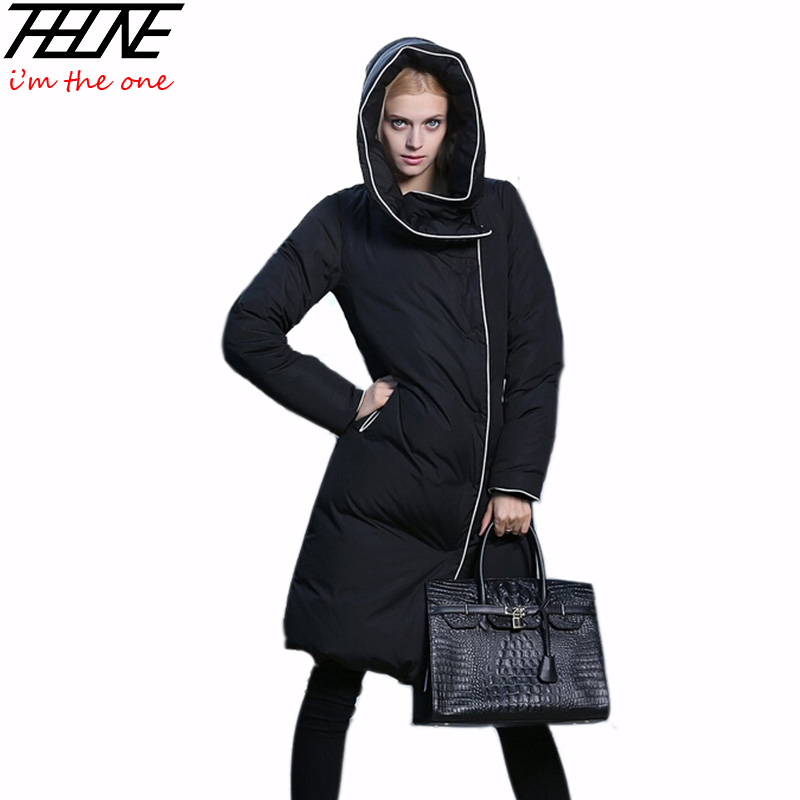 Brand European Down Jacket Women Winter Coat Parka Long Fashion ...