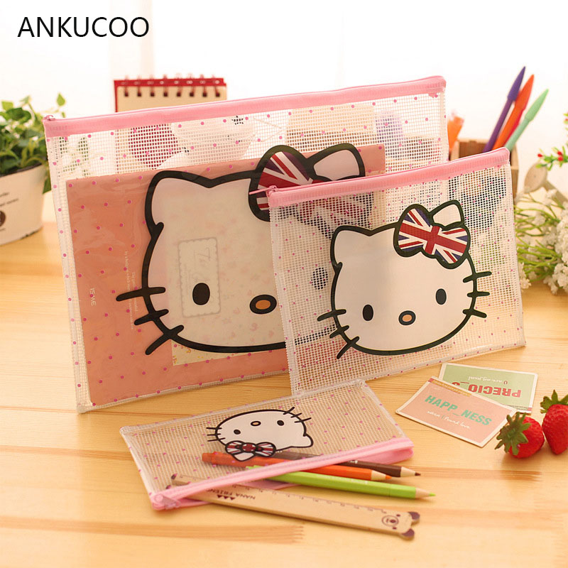 Cute Cat/Elephant Women Cosmetic Bags Travel Organizer Necessary Beauty Case PVC Toiletry Bags Makeup Bag Bath Wash Make Up Bag fadish transparent cosmetic bag pvc makeup bags travel organizer necessary beauty case toiletry bag wash make up pouch striped
