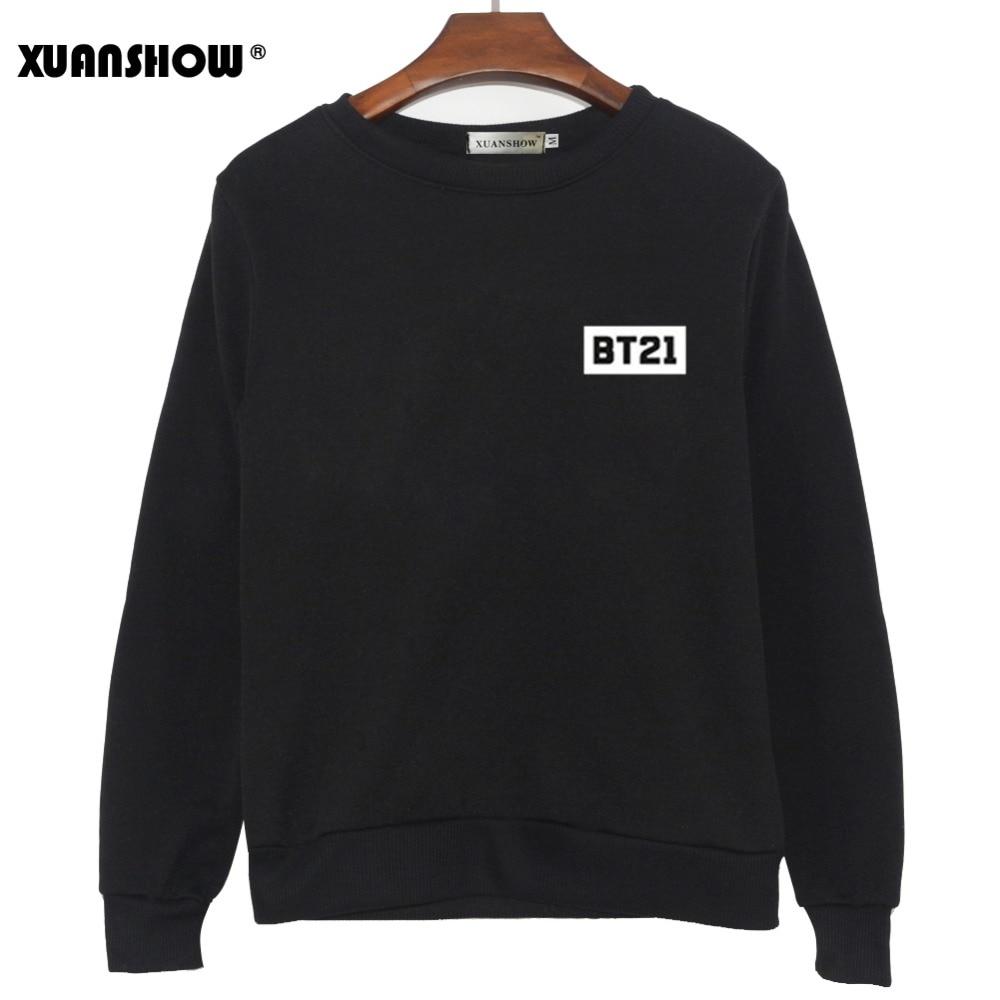 2019 neue BT21 Sweatshirt