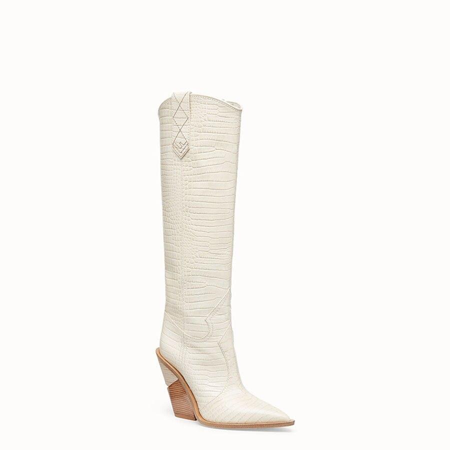 Boots Black Talons Hauts Mode brown Boots Boots Genou Plaid black Nouvelle Femmes Boots Gaufrage Short white Chelsea À Bout Bottes Prova Étrange Haute Piste Pointu Dames Perfetto Long n6gZwqU