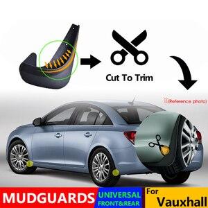 Image 4 - Aletas de barro moldeadas para el Opel de Opel Adan Astra Corsa Meriva Mokka Signum VAX guardabarros con solapa guardabarros para el coche
