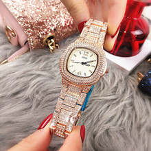 2019 Women Watches New Luxury Quartz Watch Water Resistant  Gift for Ladies Shining Diamond Elegant Graceful