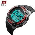 2016 Nova Marca TTLIFE Cool Men Relógio De Pulso De Choque SportWatch Moda Led Eletrônico Digital Watch Relogio masculino Relojes Mujer