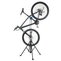 Professional Bike Adjustable Height Repair Stand Cycling Parking Racks Telescopic Arm Bicycle Rack Showing Stand Free
