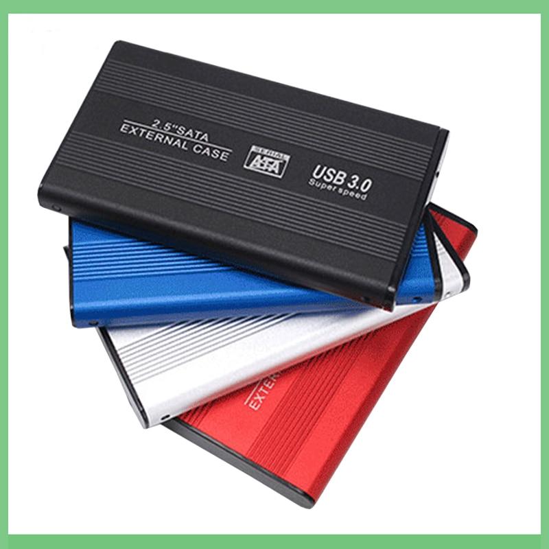 2.5 inch SATA to USB 3.0 HDD SSD 2TB 4TB Hard Disk Drive Box External HDD Enclosure Full Mesh