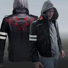 Игра прототип Alex Mercer pu кожаная куртка зимнее пальто Хэллоуин косплей костюмы для женщин/мужчин размер