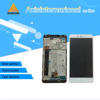 Axisinternational For Xiaomi Redmi note 4 MTK Helio X20 3GB 32GB LCD screen display+touch digitizer with frame for redmi note 4