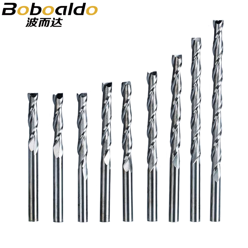 1pc 3.175mm SHK Wood cutter CNC Router Bits 2 Flutes Spiral End Mills Double Flute Milling Cutter Spiral PVC Cutter free shipping 10pcs carbide cnc router bits two flutes spiral end mills double flutes milling cutter spiral pvc cutter 4mm 22mm