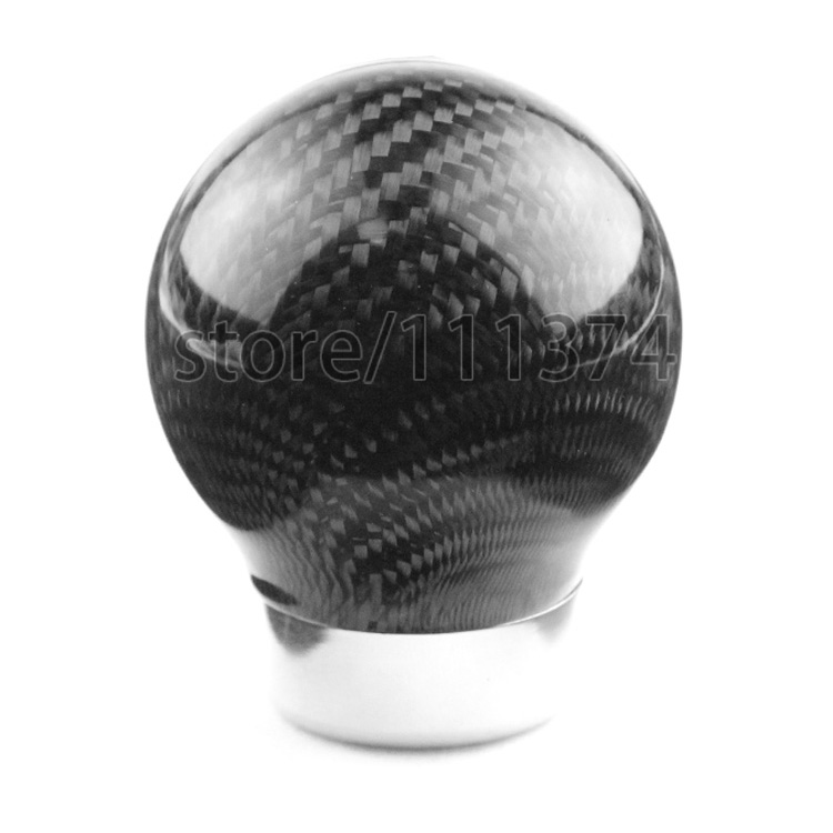 Nulla Carbon Fiber Gear Shift Collars Shifter Knob For BMW All Series Polo Tiguan CC Golf Jetta Passat Camaro Civic CR-V Benz