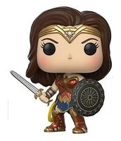 Movies DC Wonder Woman Action Figure Model With Gift Box In STOCK Christmas Gift