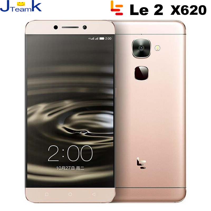 letv leeco le 2 x620 4G LTE Mobile Phone In stock MT6797 Deca Core 2.3GHz 5.5 inch 16M camera Dual Sim Fingerprint USB Type-C