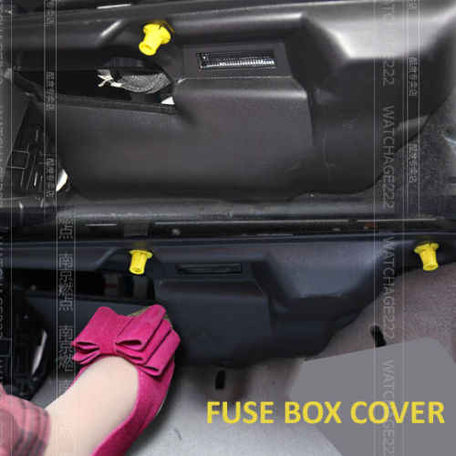 fit for 2013 ford kuga escape fuse box case cover spillplate protective lid