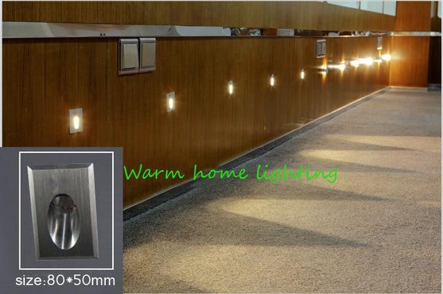 Moderne led wandlamp 1 w aluminium ac85 265v led stap licht led ...