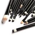 Base En Polvo profesional Pincel maquiagem Pincel Sombra de Ojos Eyeliner Lápiz Labial Cepillo Cosméticos Herramientas 20 unids Pinceles de Maquillaje Set