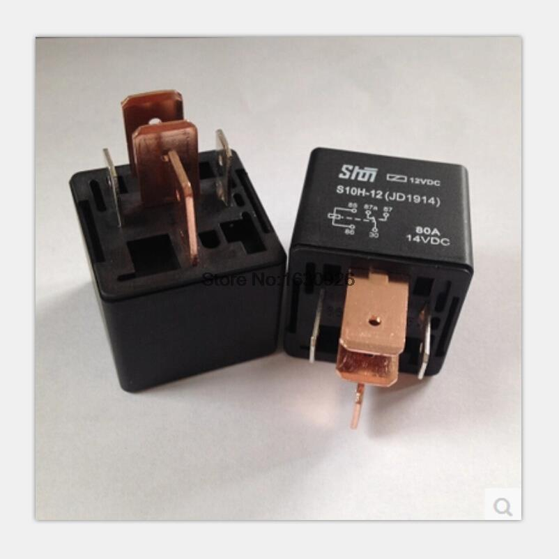 5pcs  Lot High Quality Automobile Relay 5 Pin Jd1914 Dc 12v
